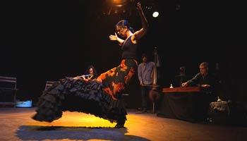 Urulario y Gabaldón - espectacle dins del festival Ciutat Flamenco 2015 - Mercat de les Flors, Dansa i Moviment