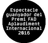 Le Vide- Premi FAD 2016