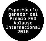 Le Vide- Premio FAD 2016