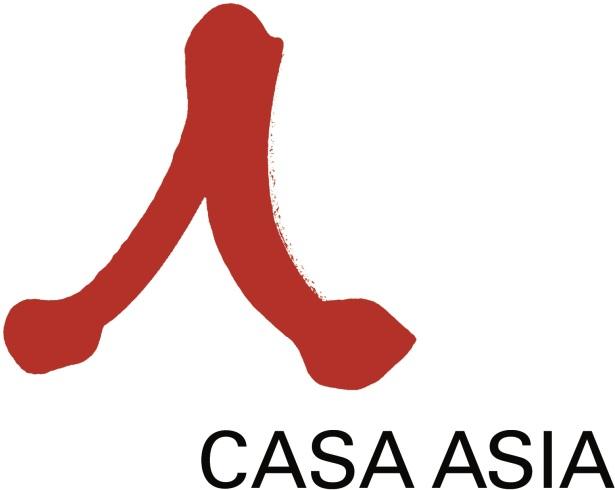 Logo Casa Asia rojo