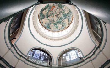 Cúpula Mercat de les Flors, obra de Miquel Barceló