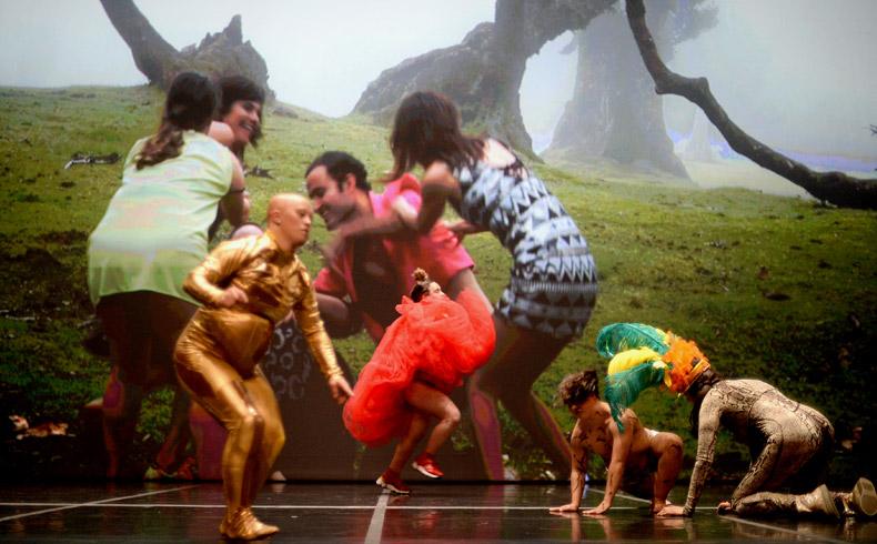 'Happy Island' - La Ribot amb Dançando com a diferença